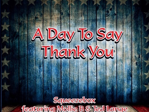 A Day to Say Thank You CD
