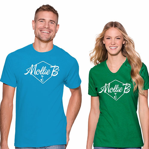 "SHIRT: ANY COLOR with ""Mollie B"" Logo"