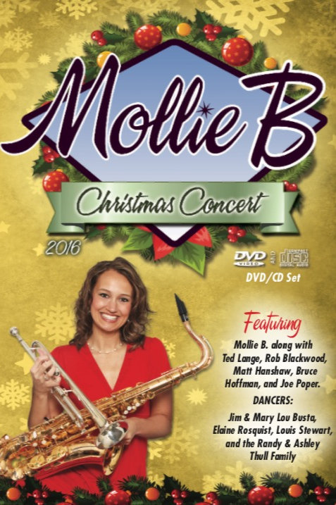 "DVD/CD pack: 2016 ""Mollie B Christmas"""