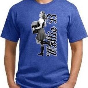 "Kid's T-shirt: Heather Blue ""Mollie B"""