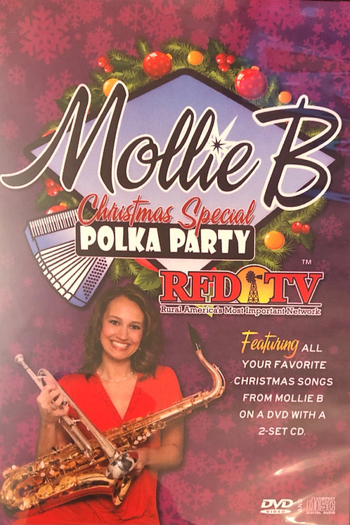 "DVD/2-CD pack: 2013 ""Mollie B Christmas Special"""