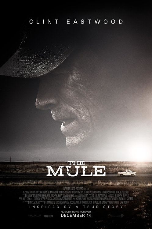 """DVD: """"The Mule"""" with Mollie B's autograph"""