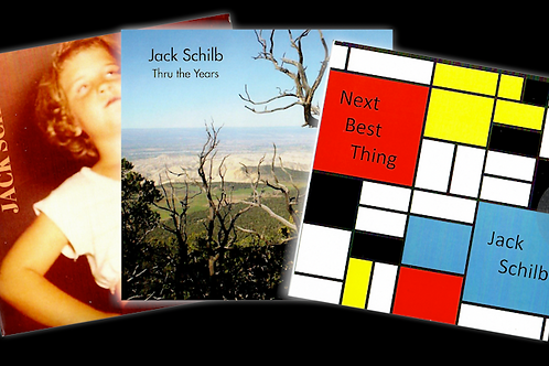 """JACK PACK"" 3 CD Collection from Jack Schilb"