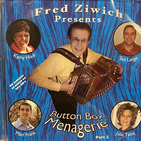 CD: Fred Ziwich, Ted Lange: Button Box Menagerie Part 2