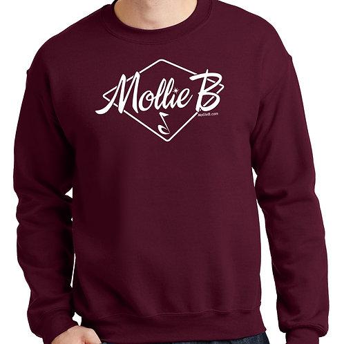 "Sweatshirt - ANY COLOR - ""Mollie B"" logo"