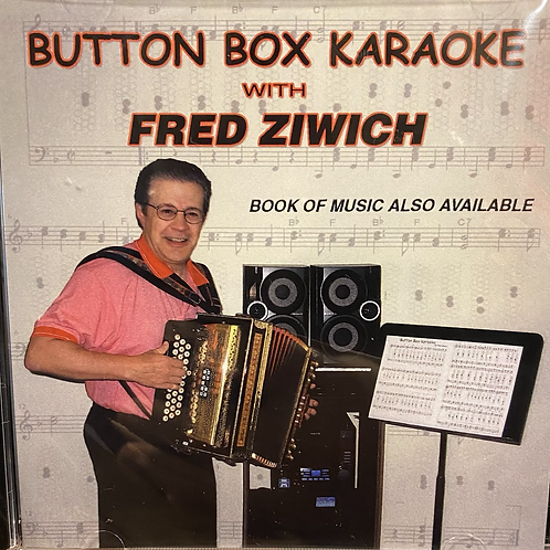 CD: Fred Ziwich: Button Box Karaoke