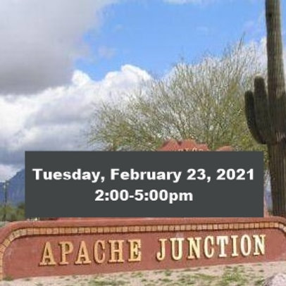 TICKET: Tuesday, February 23, 2021, Apache Junction - SqueezeBox - Danc