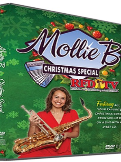 "DVD/2-CD pack: 2014 ""Mollie B Christmas Special"""