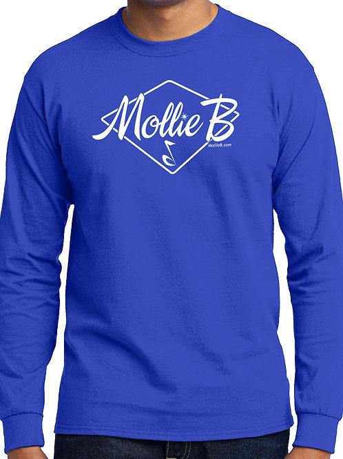 "Long Sleeve Shirt - ANY COLOR - ""Mollie B"" logo"