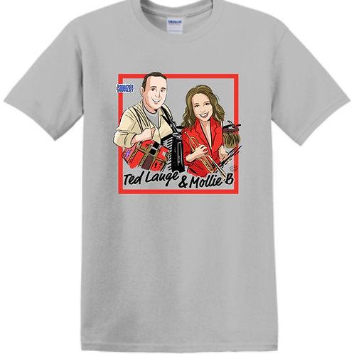 "Made to Order Shirt: ""Ted Lange & Mollie B"""