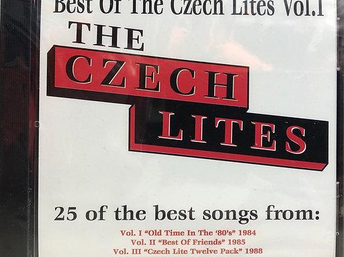 """CD: The Czech Lites: """"Best of the Czech Lites, Vol 1"""""""
