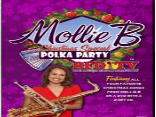 """DVD/2-CD pack: 2013 """"Mollie B Christmas Special"""""""