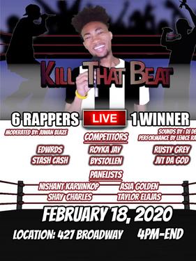 LIVE! Kill that Beat