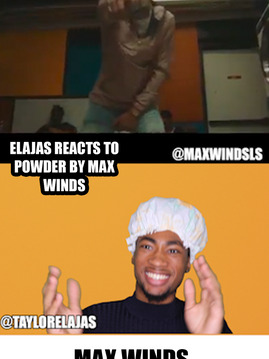 Elajas Reacts to Powder by Max Winds