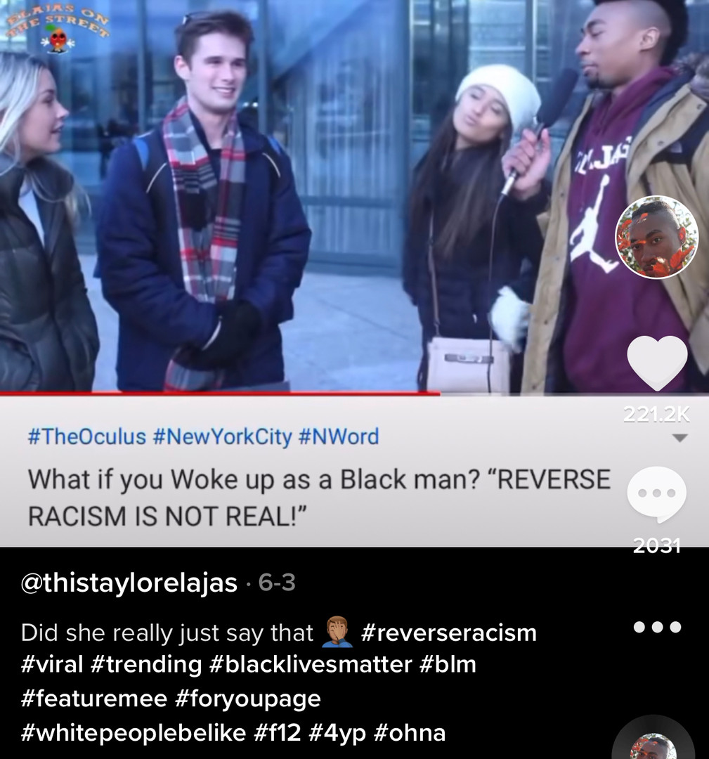 Reverse Racism Viral 10