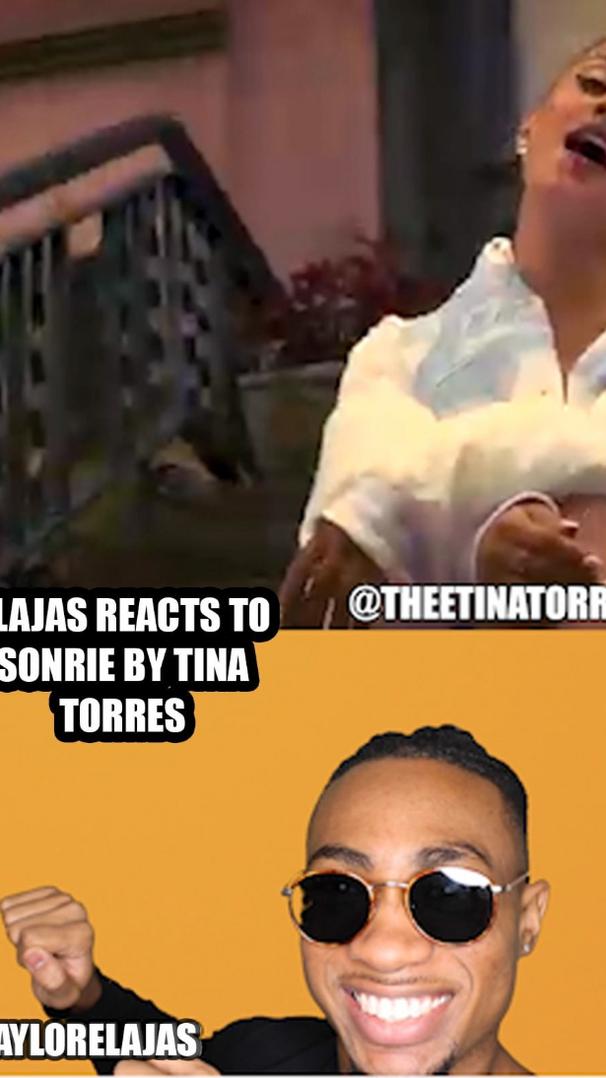 Elajas Reacts to Sonrise by Tina Torres