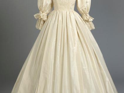 KENSINGTON PALACE EXHIBITION 'ROYAL STYLE IN THE MAKING' - SHOWCASES PRINCESS DIANAS WEDDING DRESS
