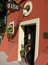 Vinný sklep U Lisu - vchod