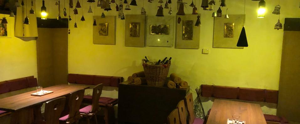 Posezení v lisovně Vinný sklep U LISU