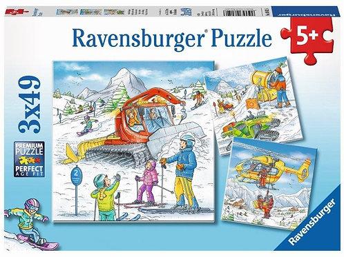 3x49pc 5+Ravensburger - 08052