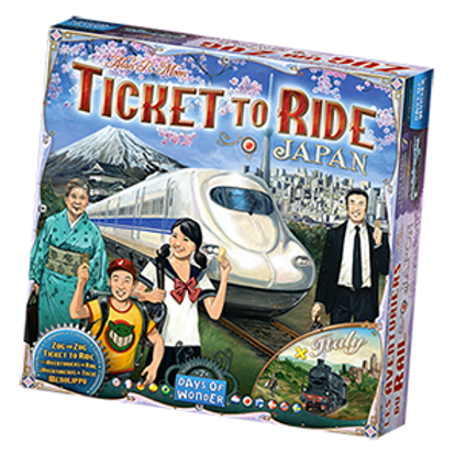 Ticket to Ride Japan + Italy