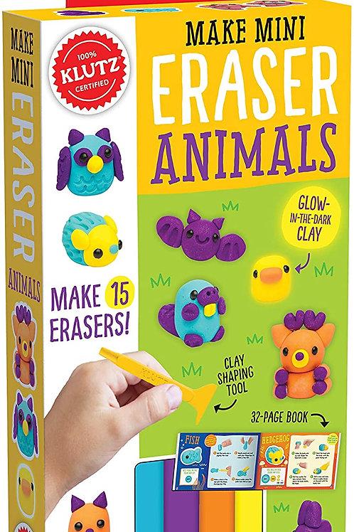 Klutz - Make Mini Eraser Animals