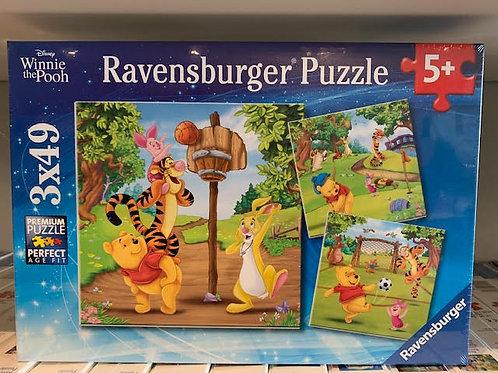 3x49pc 5+ Ravensburger - 05187