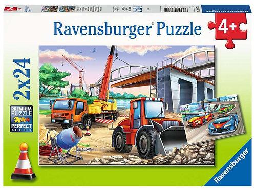 2x24pc 4+ Ravensburger - 05157