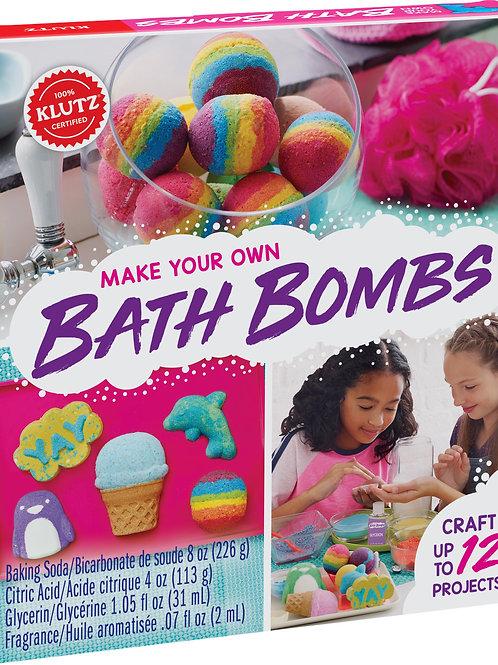 Klutz - Make Your Own Bath Bombs