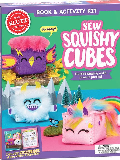 Klutz - Sew Squishy Cubes