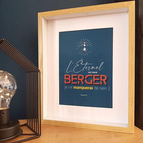 Affiche-prière Mon Berger