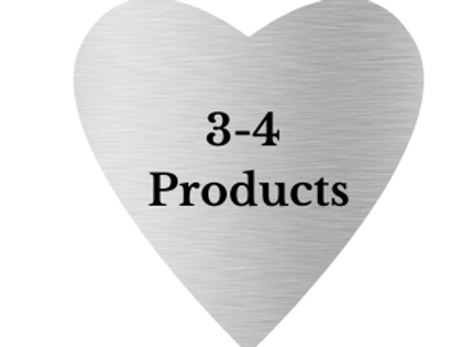 Silver comes with 3-4 products