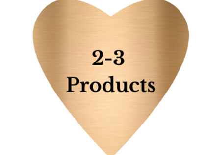 Bronze comes with 2-3 products