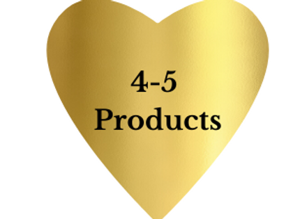 Gold comes with 4-5 products