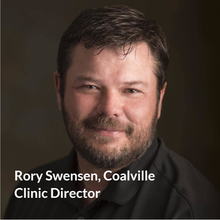 Rory Swensen, Clinic Director