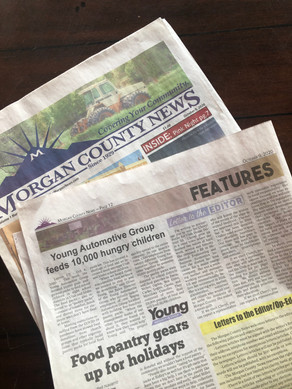 The Morgan County News, Shelley Hill-Worthen contributor