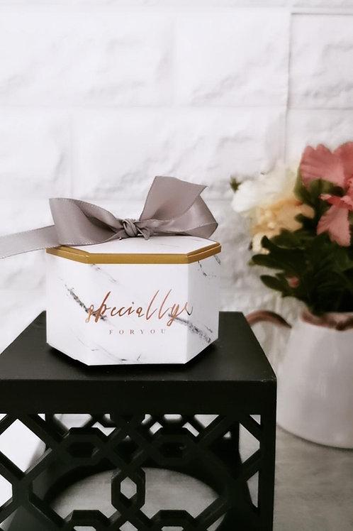 Boîte cadeau marbre