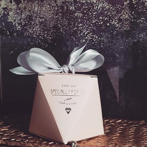 Boîte cadeaux rose