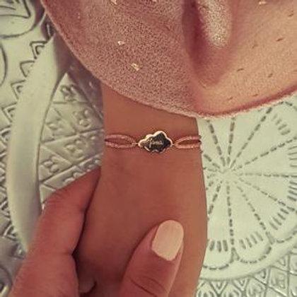 Bracelet cordon Nuage