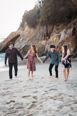 laguna beach california family photographer beach photos