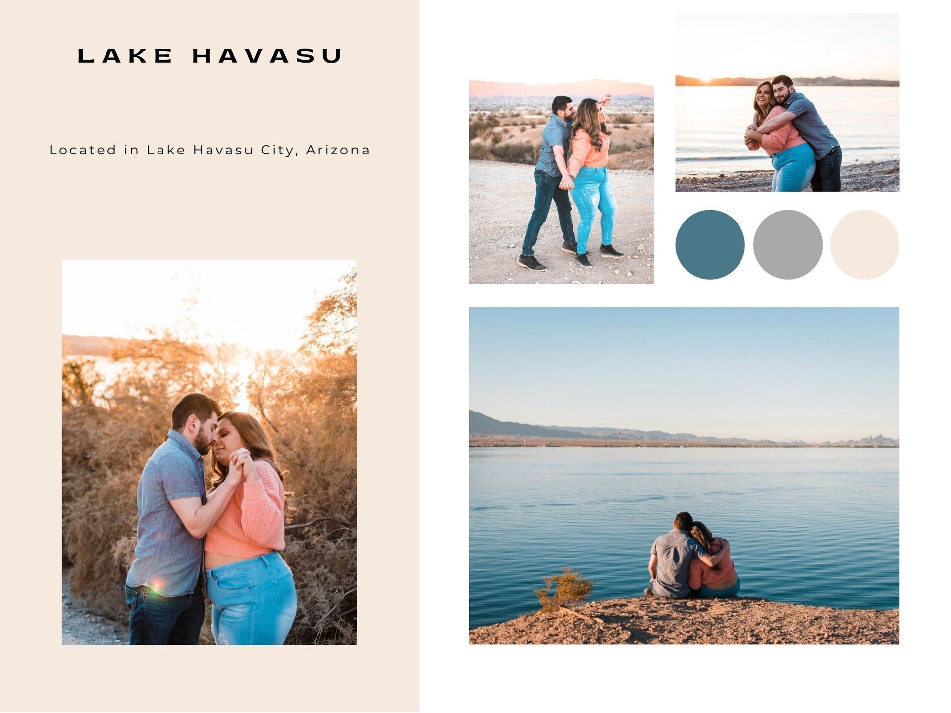 lake havasu city arizona photographer travel engagement elopement