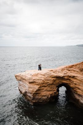 sunset cliffs san diego maternity photographer