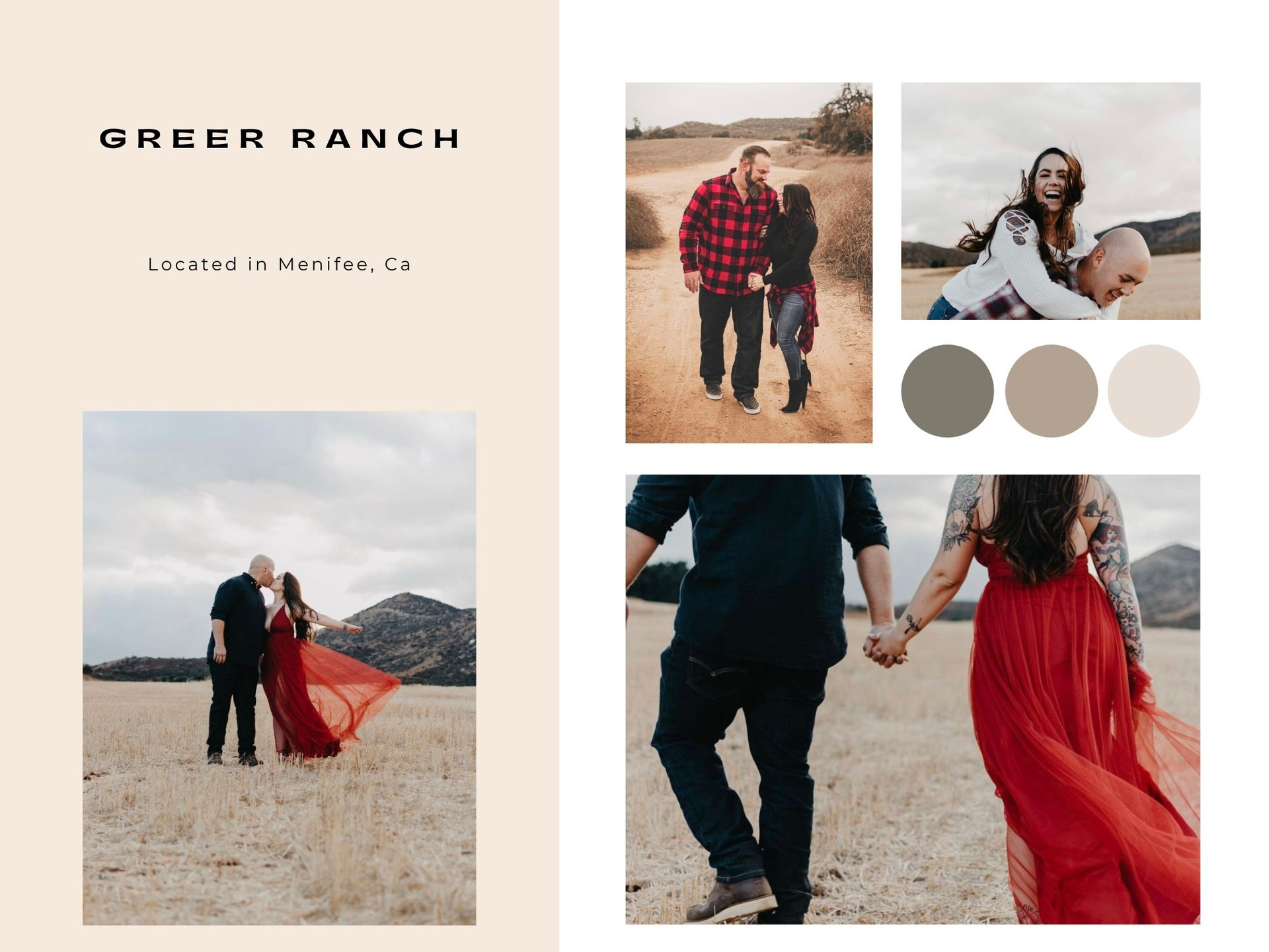 menifee california field photoshoot for couples and engagement photos