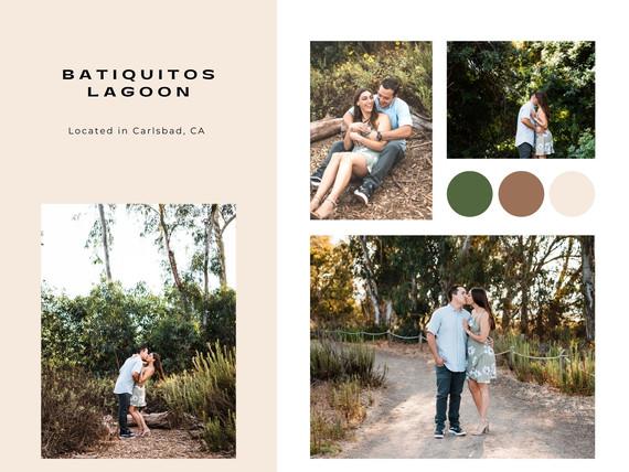 batiquitos lagoon trail head carlsbad california engagement photographer