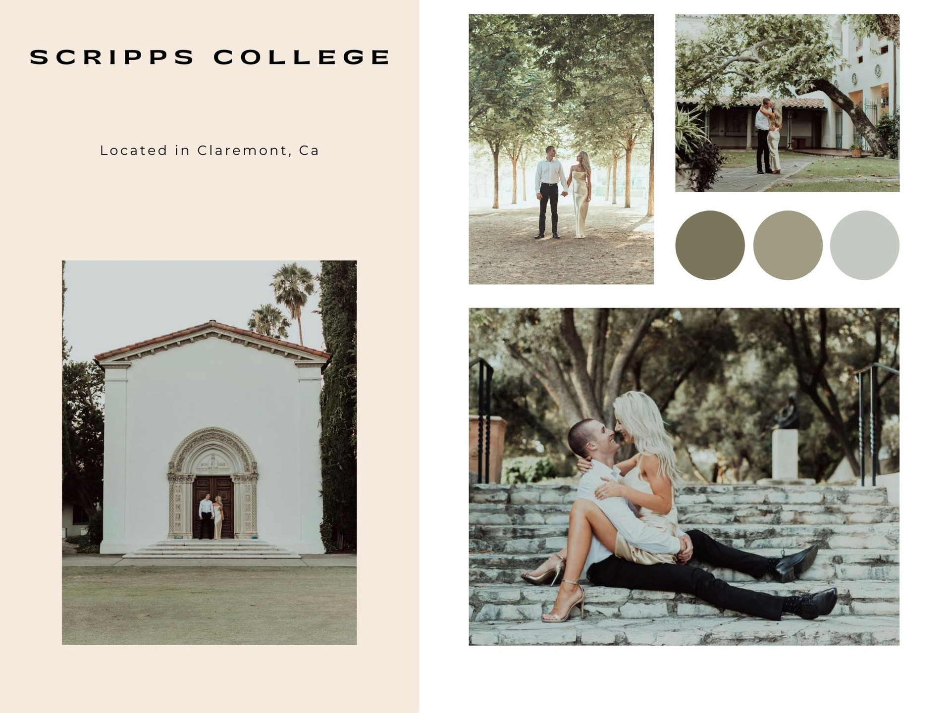 scripps college claremont california engagement photographer
