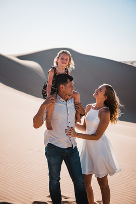 glamis sand dunes california family photographer