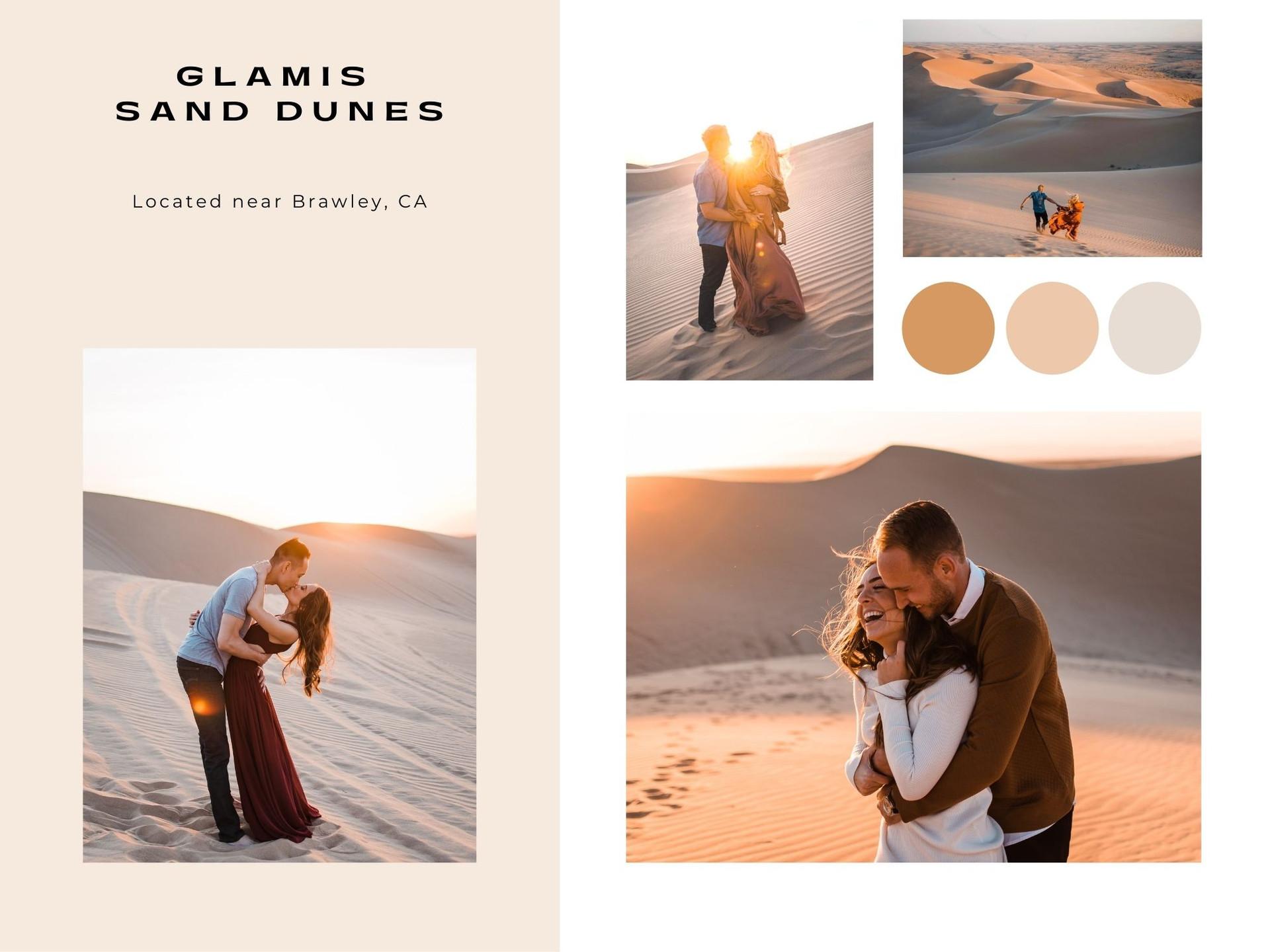glamis sand dunes engagement family photoshoot photographer