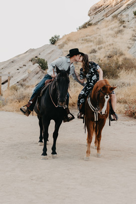 vasquez rocks los angeles california engagement photographer