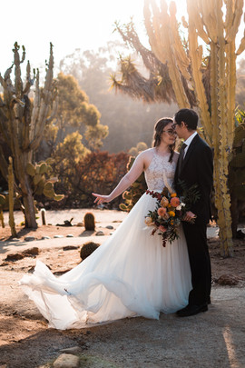 san Diego california wedding elopement photographer old cactus garden