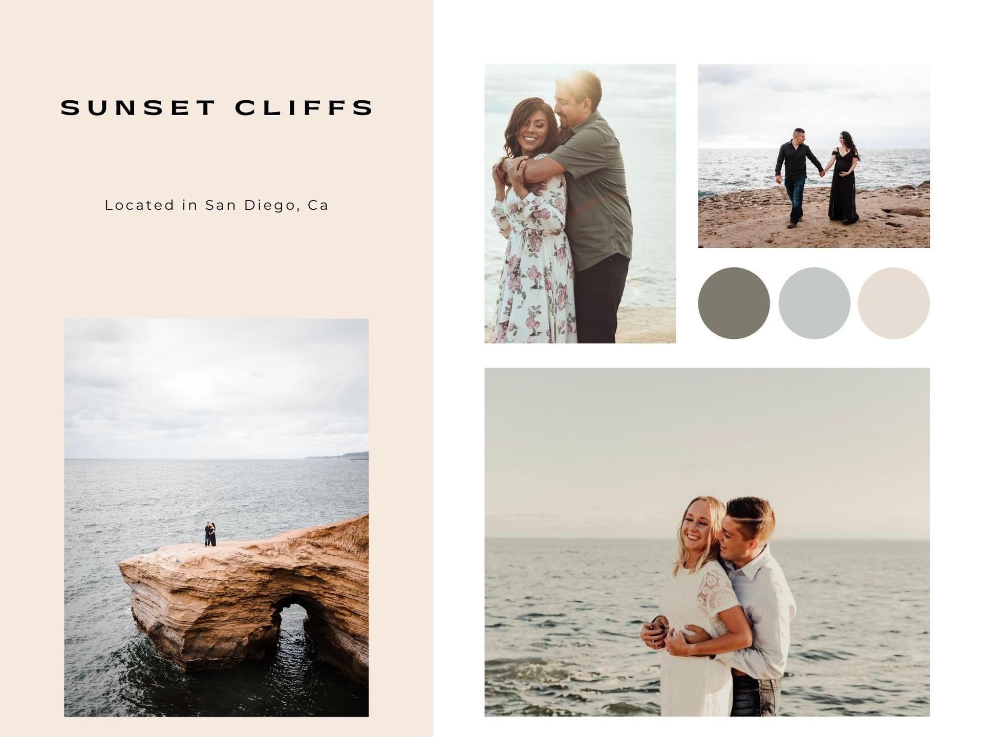 sunset cliffs california san diego photographer beach photoshoot couples maternity